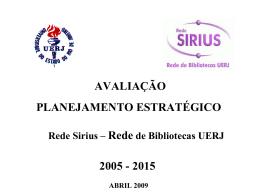 Apresentação do PowerPoint - Rede Sirius