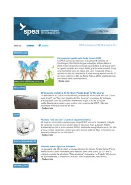 SPEA online Açores n.º 62