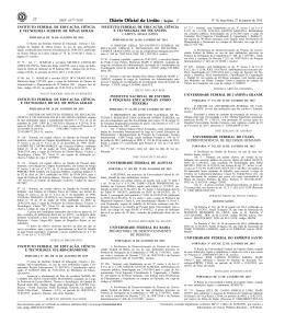 Nomeação - Concursos - Universidade Federal da Bahia