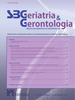 Volume 6 – Nº 3 – Edição: Jul/Ago/Set 2012