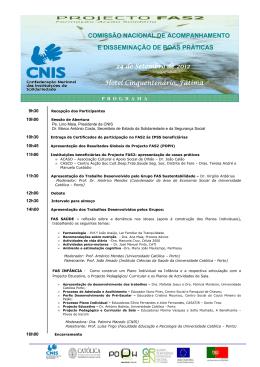 Programa 24 Set 2012 Encerramento FAS2