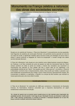 Monumento na França celebra a natureza das obras das