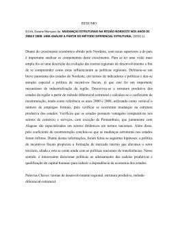 Baixe aqui a verso em pdf da rbo mudanas estruturais na regio nordeste nos anos de fandeluxe Gallery