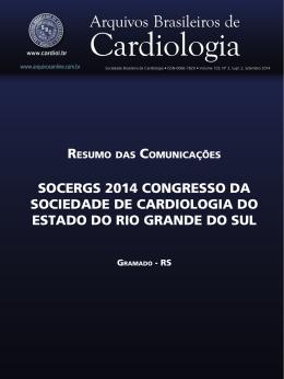 soCeRGs 2014 ConGResso da soCiedade de CaRdioLoGia do