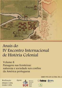 Volume 8 - Paisagens nas fronteiras