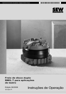 Freio de disco duplo BMG..T para aplicações de - SEW