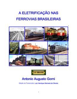 A Eletrificação nas Ferrovias Brasileiras
