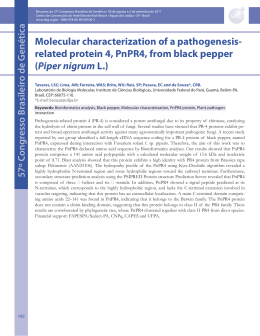 related protein 4, PnPR4, from black pepper