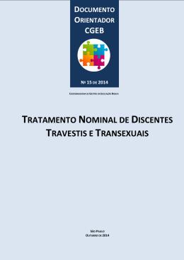 TRATAMENTO NOMINAL DE DISCENTES