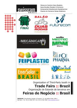 Trade Fairs :: Brazil Feiras de Negócio :: Brasil
