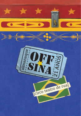 Almanaque Off-Sina 21 anos