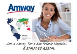 Com a Amway Ter o Seu Próprio Negócio