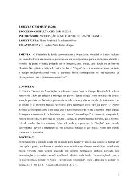 parecer crm/ms n° 15/2014 processo consulta crm ms: 09/2014