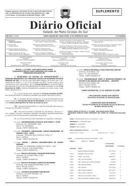Diário Oficial n. 7.137 Suplemento