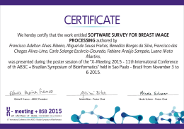 software survey for breast image processing - X