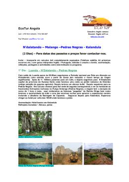 EcoTur – Safaris – Angola