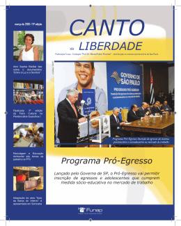 canto - Funap - Governo do Estado de São Paulo