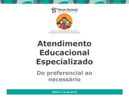 Atendimento Educacional Especializado
