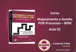 Aula 01 - Gauss Consulting Group
