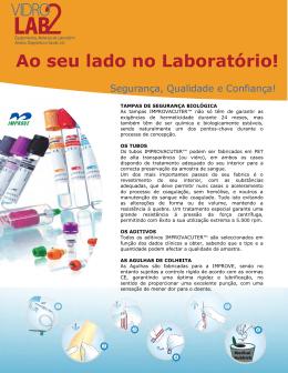 Ao seu lado no Laboratório!