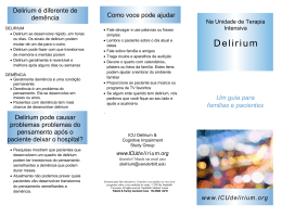 D e l i r i u m - ICU Delirium and Cognitive Impairment Study Group