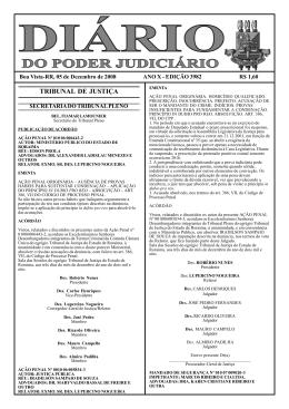 EDIÇÃO 3982.pmd - Diário da Justiça Eletrônico - TJRR