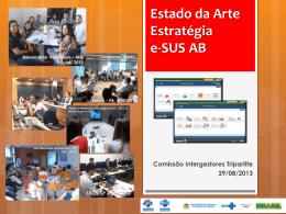 Estado da Arte do E-SUS AB - SAS/MS