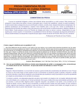 FILOSOFIA - UFPR - 2015-2a fase