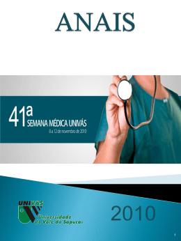 Anais Semana Médica 41ª - Edição