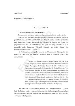 Rcl 8.853 - Migalhas