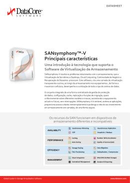 Informação sobre SANsymphony-V