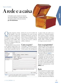 A rede e a caixa - Linux New Media