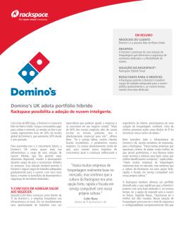 Domino`s UK adota portfólio híbrido