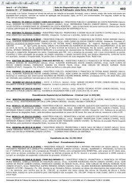 Ano 6 – nº 171/2014 Data de Disponibilização: quinta