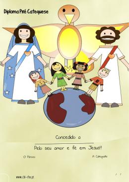 Concedido a Pelo seu amor e fé em Jesus!!! Diploma Pré - Chi-Rho