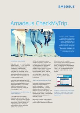 Amadeus CheckMyTrip