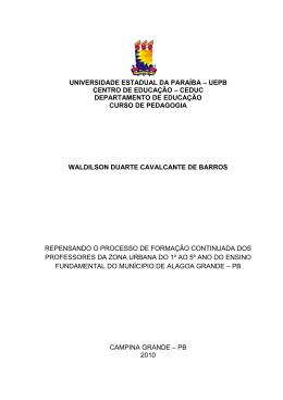 universidade estadual da paraíba – uepb centro de educação