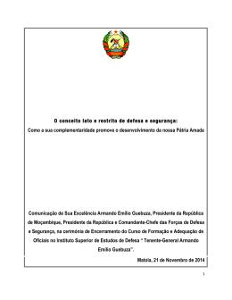 Leia na íntegra o discurso do Chefe de Estado