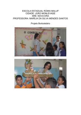 Profª. Marília da Silva Mendes Santos