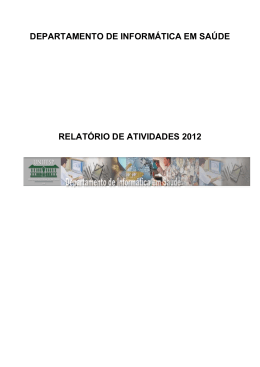 2012 - DIS - Escola Paulista de Medicina