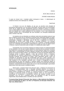 INTRODUÇÃO Autores: SILVA, Marco Aurélio da KAYSER, Aristéia