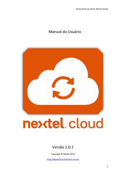 Windows Phone - Nextel Cloud
