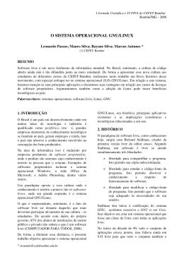 INSTRUÇÕES PARA ELABORAÇÃO DE ARTIGO COMPLETO