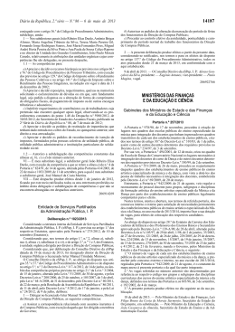 Portaria n.º 257/2013