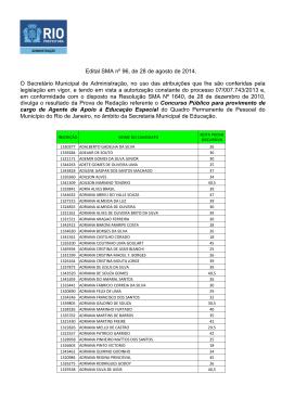 EDITAL_SMA Nº96_RESULTADOREDAÇAO_AAEE