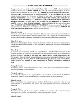Acordo de CCV