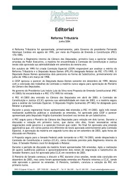 Editorial - Umbelino Lôbo - Assessoria e Consultoria