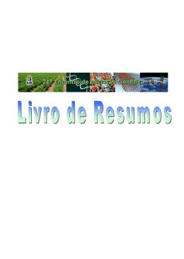 Livro Resumos - 21EIC/2011 (clique aqui)