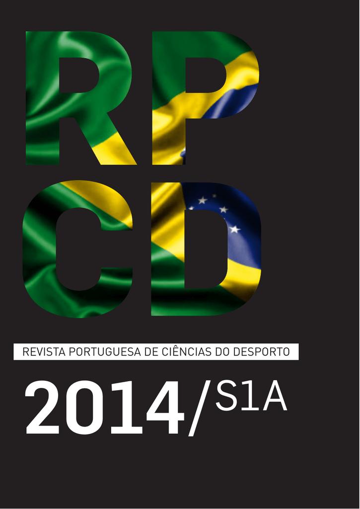 1469062d3 RPCD, 2014, S1A - Faculdade de Desporto da Universidade do Porto