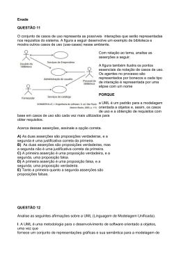 ENADE - Questoes UML